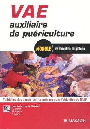 VAE Auxiliaire de puériculture - elsevier / masson - 9782294701580 -