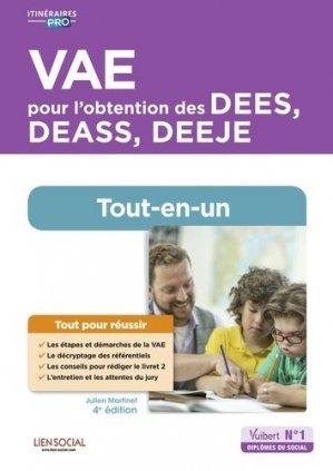 VAE pour l'obtention des DEES, DEASS, DEEJE - Vuibert - 9782311207774 -