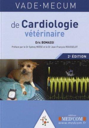 Vade-mecum de cardiologie vétérinaire - med'com - 9782354030650 -