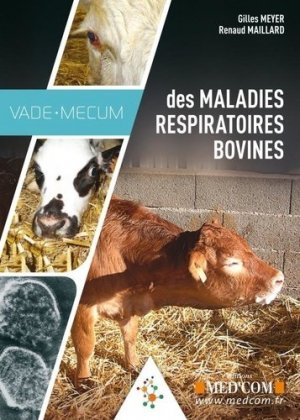 Vademecum des maladies respiratoires bovines - med'com - 9782354032760 -