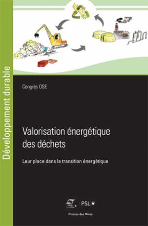 Valorisation énergétique des déchets - presses des mines - 9782356715326 -