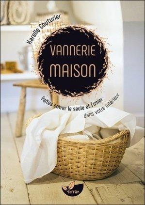 Vannerie maison - de terran - 9782359811285 -