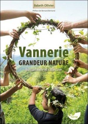 Vannerie grandeur nature - Buissonnière et collective - de terran - 9782359811438 -