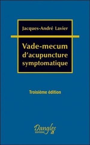 Vade-mecum d'acupuncture symptomatique - Dangles - 9782703312611 -