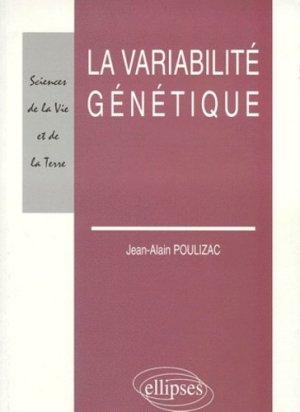 Variabilité génétique - ellipses - 9782729878566 -