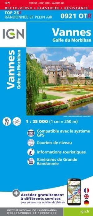 Vannes, Golfe-du-Morbihan - Institut Géographique National - 9782758551669 -