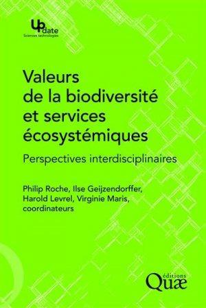 Valeurs de la biodiversité et services écosystémiques - quae - 9782759224425 -