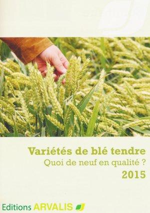 Variétés de blé tendre - arvalis - 9782817902357 -