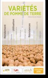 Variétés de pomme de terre produites en France - 2018 - arvalis - 9782817903682 -