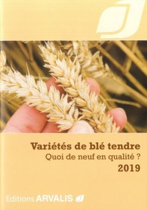 Variétés de blé tendre - arvalis - 9782817903835 -