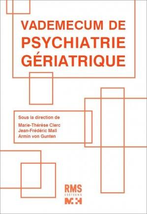 vademecum de psychiatrie geriatrique - medecine et hygiene - 9782880494698 -
