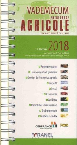 Vademecum entreprise agricole - arnaud franel - 9782896036172 -
