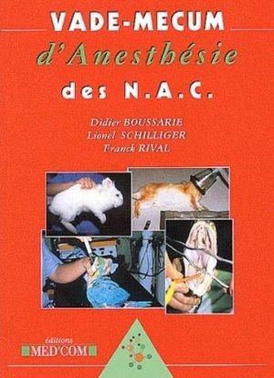 Vade-mecum d'anesthésie des NAC - med'com - 9782914738057 -