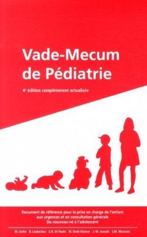 Vade-Mecum de pédiatrie - babyguide - 9782940370160 -