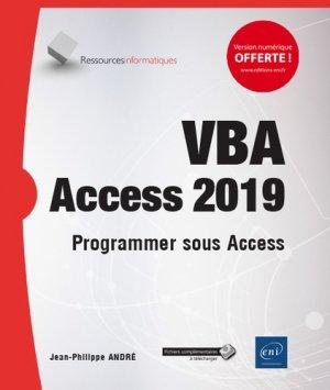 VBA Access 2019 - eni - 9782409017919