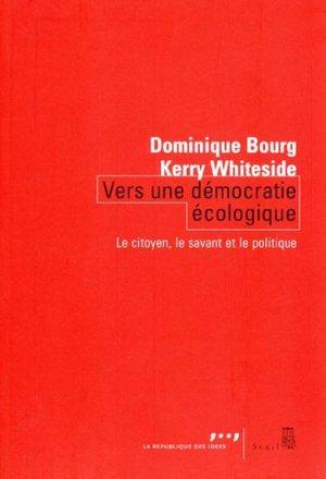 Vers une démocratie écologique - du seuil - 9782021022988 -