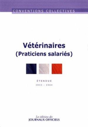 Vétérinaires (Praticiens salariés) - journaux officiels - 9782110768162 -