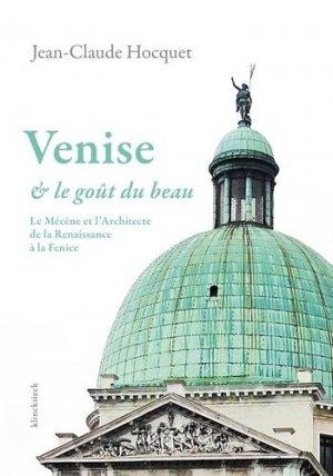 Venise et le goût du beau - klincksieck - 9782252039663 -