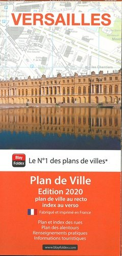 Versailles. 1/10 000, Edition 2020 - Blay-Foldex - 9782309505462 -