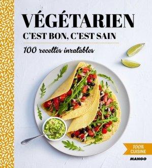 Végétarien, c'est bon c'est sain - mango - 9782317012877 -