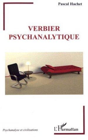 Verbier psychanalytique - l'harmattan - 9782343121819 -