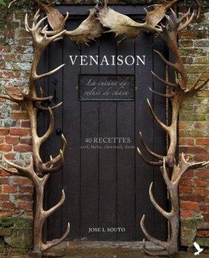 Venaison, la cuisine du relais de chasse - gerfaut - 9782351912263 -