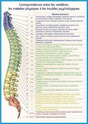 Vertèbres, maladies physiques et psychologiques - ecce - 9782351952962 -