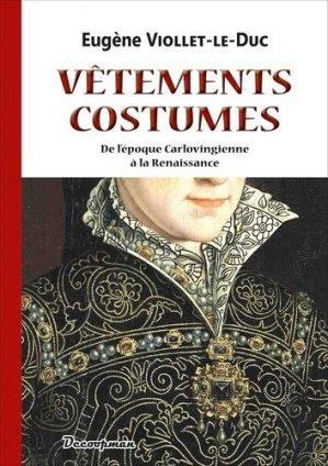 Vêtements et Costumes - editions decoopman - 9782369651222 -