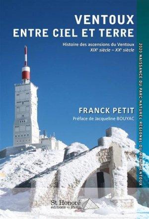 Ventoux – entre ciel et terre - Saint Honoré Editions - 9782407015443 -