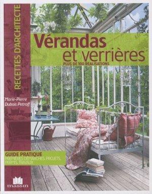 Vérandas et verrières - massin - 9782707206374 -