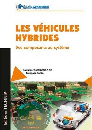 Véhicules hybrides - technip - 9782710809869 -