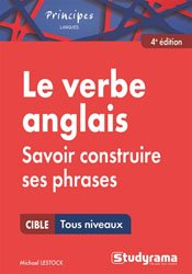 Le verbe anglais - Studyrama - 9782759035922 -