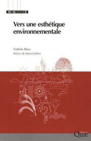 Vers une esthétique environnementale - quae  - 9782759201129 -