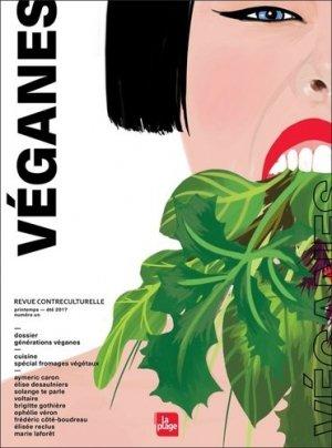 Véganes -  revue contreculturelle - la plage - 9782842215255 -