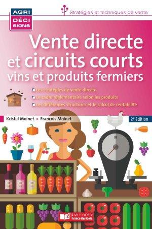 Vente directe & circuits courts - france agricole - 9782855574332 -