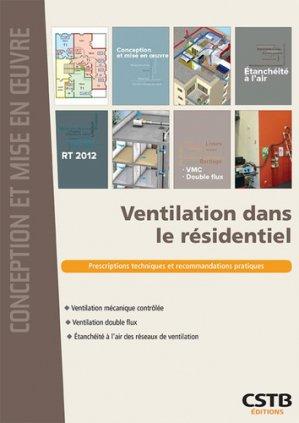 Ventilation - cstb - 9782868916952 -