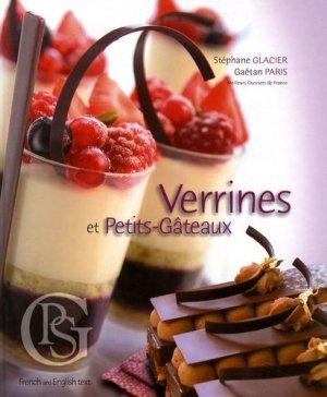 Verrines et Petits-Gâteaux. Edition bilingue français-anglais - SGP Saveurs et créations - 9782953598100 - majbook ème édition, majbook 1ère édition, livre ecn major, livre ecn, fiche ecn