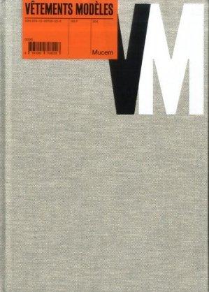 Vêtements modèles - MuCEM - 9791092708226 -