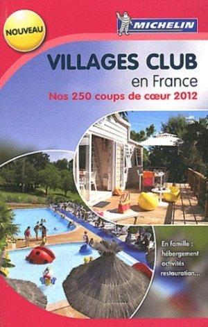 Villages club en France - Michelin - 9782067167933 -