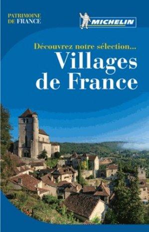 Villages de France - Michelin - 9782067177215 -