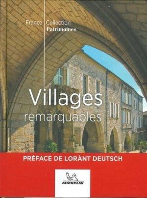 Villages remarquables - Michelin - 9782067249219 -