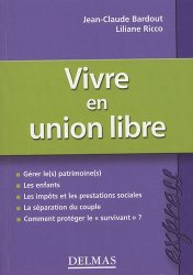 Vivre en union libre - dalloz - 9782247060085 -