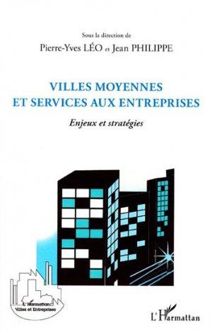 Villes moyennes et services aux entreprises - l'harmattan - 9782296564183 -