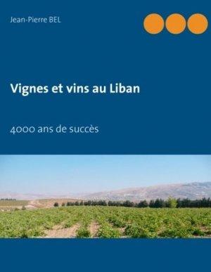 Vignes et vins au Liban - books on demand - 9782322037483 -