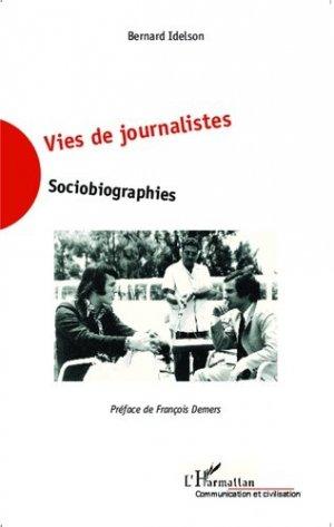 Vies de journalistes - l'harmattan - 9782343040684 -