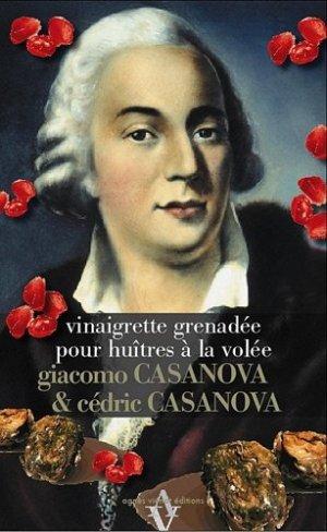 Vinaigrette grenadée pour huîtres à la volée - Agnès Viénot Editions - 9782353261437 -