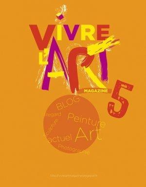 Vivre l'art Magazine N° 5 - Le Livre d'Art Iconofolio - 9782355323546 -