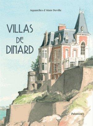 Villas de Dinard - Editions Palantines - 9782356781246 -
