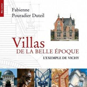 Villas de la Belle Epoque - bleu autour - 9782358480512 -