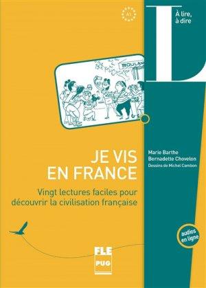 Je vis en France - PUG - 9782706125270 -